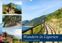 Wandern in Ligurien (Wandkalender 2021 DIN A2 quer) von Prediger,  Klaus, Prediger,  Rosemarie