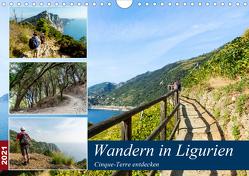 Wandern in Ligurien (Wandkalender 2021 DIN A4 quer) von Prediger,  Klaus, Prediger,  Rosemarie