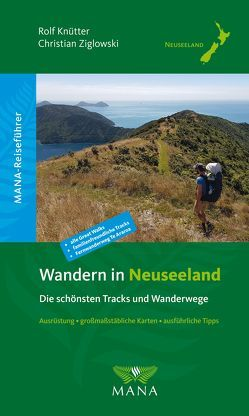 Wandern in Neuseeland von Knütter,  Rolf, Ziglowski,  Christian