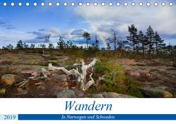 Wandern – In Norwegen und Schweden (Tischkalender 2019 DIN A5 quer) von Dietz,  Rolf