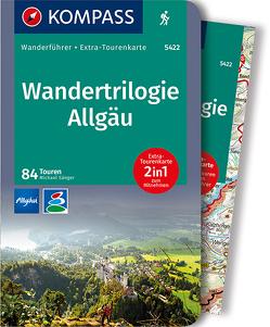 KOMPASS Wanderführer Wandertrilogie Allgäu von Sänger,  Michael