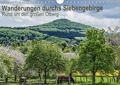 Wanderwege durchs Siebengebirge – Rund um den großen Ölberg (Wandkalender 2018 DIN A4 quer) von Leonhardy,  Thomas