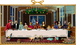 Wandkalender – Das Weihnachtsmahl von Knappe,  Joachim