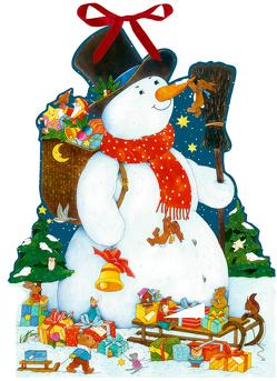 Wandkalender – Der glückliche Schneemann von Kämpf,  Christian