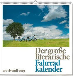 Wandkalender: Der große literarische Fahrradkalender 2019