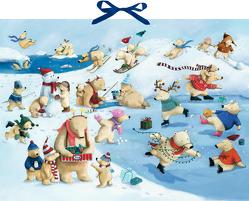 Wandkalender – Fröhliche Eisbären-Weihnacht von Reider,  Katja, Wilson,  Henrike