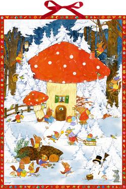 Wandkalender – Glückliche Weihnachtszeit von Kämpf,  Christian
