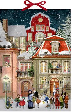 Wandkalender – In der Weihnachtsgasse von Behr,  Barbara