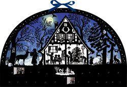 Wandkalender – Lichterbogen Weihnachtswald von Behr,  Barbara