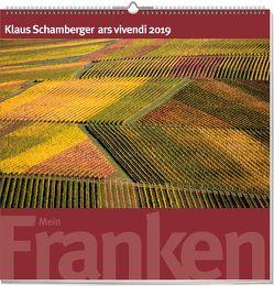 Wandkalender: Mein Franken 2019 von Schamberger,  Klaus