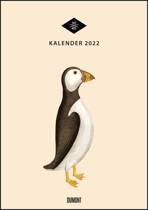 Wandkalender »Menagerie« 2022 – Historische Tier- und -Pflanzen-Zeichnungen modern interpretiert – Von 30×40 – 29,7 x 42 cm – Mit Spiralbindung