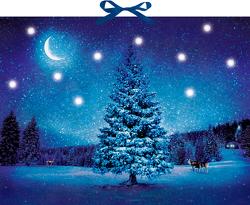 Wandkalender mit Licht – Winterzauber
