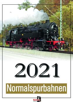 Wandkalender Normalspurbahn 2021 von Dotzauer,  Manuel