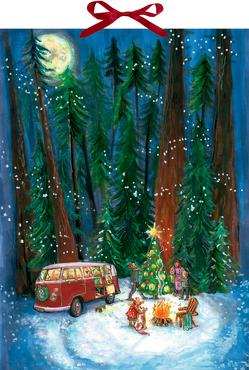 Wandkalender – Outdoor-Christmas von Riese,  Anna de