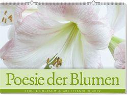Wandkalender: Poesie der Blumen 2019 von Ohlbaum,  Isolde