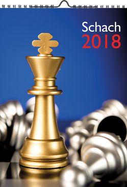 Wandkalender Schach 2018 von Ullrich,  Robert