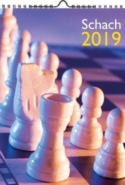 Wandkalender Schach 2019 A3 von Ullrich,  Robert