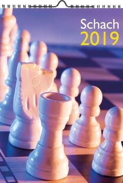 Wandkalender Schach 2019 A4 von Ullrich,  Robert