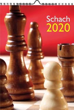 Wandkalender SCHACH 2020 A4 von Ullrich,  Robert