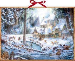Wandkalender – Weihnachten auf dem Mühlenhof von Kathirgamalingam,  Pirapakar
