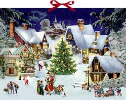 Wandkalender – Weihnachten im Dorf von Behr,  Barbara