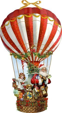 Wandkalender – Weihnachtsballon von Behr,  Barbara