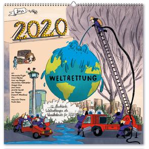 Wandkalender Weltrettung 2020 von Köhn,  Annette