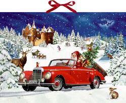 Wandkalender – Winterfahrt im Oldtimer von Behr,  Barbara