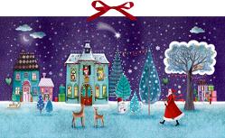Wandkalender – Zauberhafte Weihnachtszeit von Marquis,  Mila