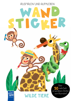 Wandsticker – Wilde Tiere