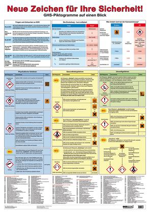 Wandtafel Neue Zeichen für Ihre Sicherheit! von Roth,  Lutz, Rupp,  Gabriele