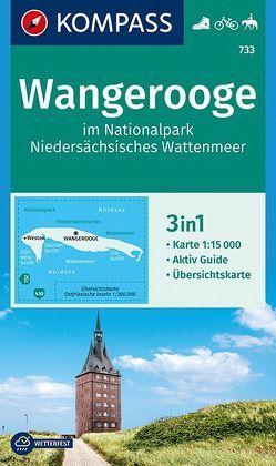 Wangerooge im Nationalpark NIedersächsisches Wattenmeer von KOMPASS-Karten GmbH