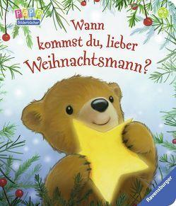 Wann kommst du, lieber Weihnachtsmann? von Edgson,  Alison, Metzger,  Steve, Nahrgang,  Frauke