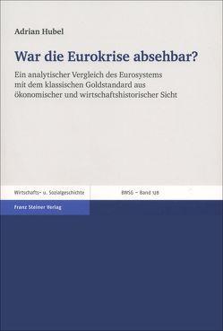 War die Eurokrise absehbar? von Hubel,  Adrian
