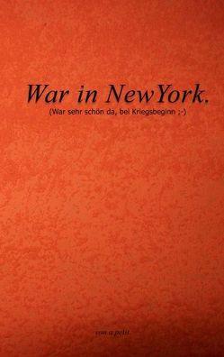 War in NewYork von petit,  a