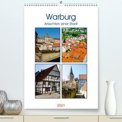 Warburg – Ansichten einer Stadt (Premium, hochwertiger DIN A2 Wandkalender 2021, Kunstdruck in Hochglanz) von W. Lambrecht,  Markus