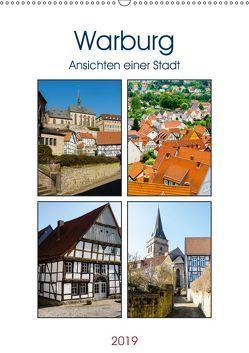 Warburg – Ansichten einer Stadt (Wandkalender 2019 DIN A2 hoch) von W. Lambrecht,  Markus