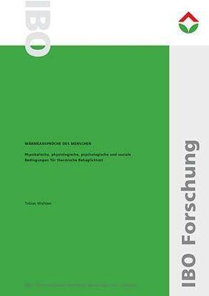 Wärmeansprüche des Menschen von IBO – Österreichisches Institut für Baubiologie und -ökologie, Waltjen,  Tobias