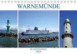 WARNEMÜNDE Der Norden Deutschlands (Tischkalender 2019 DIN A5 quer) von Mellentin,  Andreas