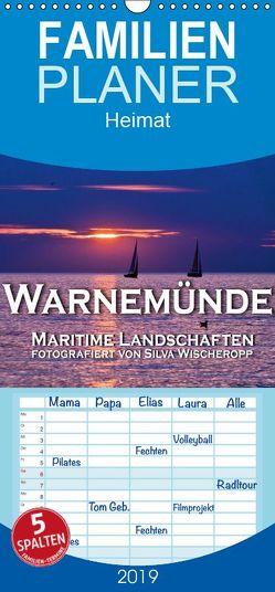 Warnemünde – Maritime Landschaften – Familienplaner hoch (Wandkalender 2019 , 21 cm x 45 cm, hoch) von Wischeropp,  Silva