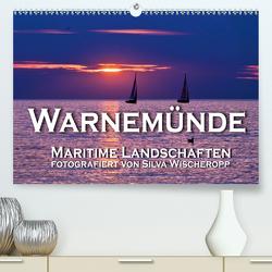 Warnemünde – Maritime Landschaften (Premium, hochwertiger DIN A2 Wandkalender 2021, Kunstdruck in Hochglanz) von Wischeropp,  Silva