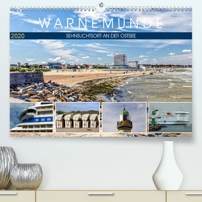 Warnemünde – Sehnsuchtsort an der Ostsee (Premium, hochwertiger DIN A2 Wandkalender 2020, Kunstdruck in Hochglanz) von Felix,  Holger