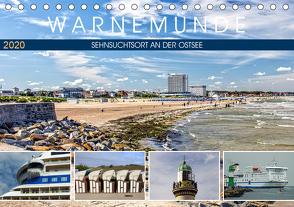Warnemünde – Sehnsuchtsort an der Ostsee (Tischkalender 2020 DIN A5 quer) von Felix,  Holger