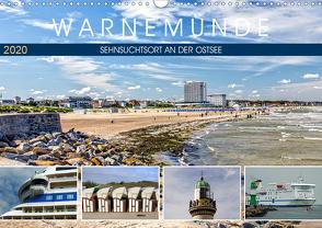 Warnemünde – Sehnsuchtsort an der Ostsee (Wandkalender 2020 DIN A3 quer) von Felix,  Holger