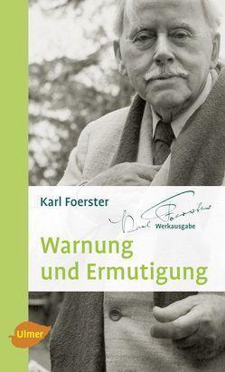 Warnung und Ermutigung von Foerster,  Karl