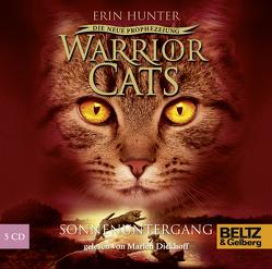 Warrior Cats – Die neue Prophezeiung. Sonnenuntergang von Diekhoff,  Marlen, Hunter,  Erin, Levin,  Friederike, Wiebel,  Johannes