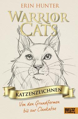 Warrior Cats – Katzenzeichnen von Erdmann,  Birgit, Hunter,  Erin, van Raevels,  Frieda
