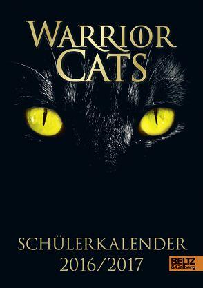 Warrior Cats – Schülerkalender 2016 / 2017 von Hunter,  Erin