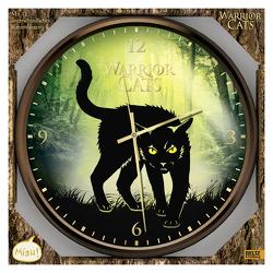 Warrior Cats – Wanduhr mit Katzenlauten von Hunter,  Erin