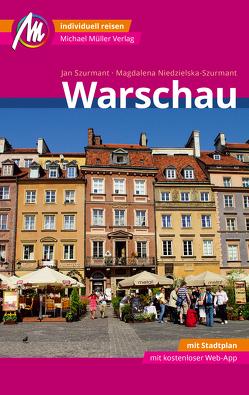Warschau MM-City Reiseführer Michael Müller Verlag von Niedzielska-Szurmant,  Magdalena, Szurmant,  Jan